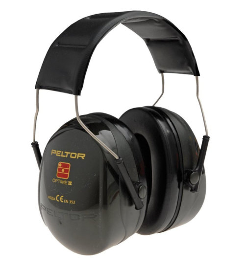 3M Peltor Optime II Ear Defenders Over Head H520A - SNR31
