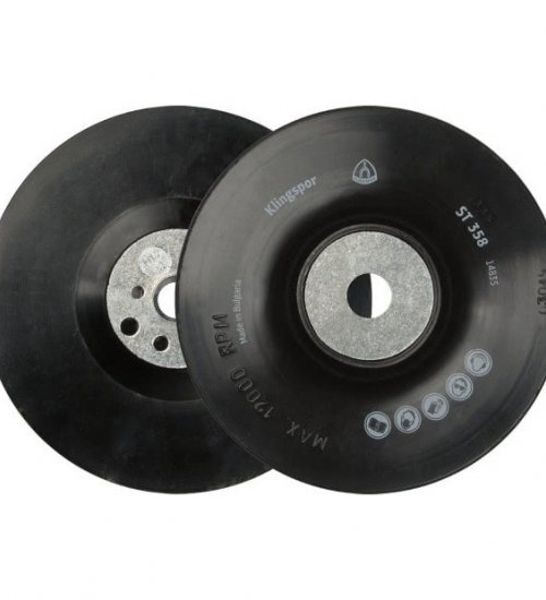 Klingspor backing pad for 115mm fibre discs
