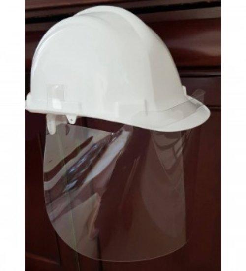 Portwest - CV19 - 500 Micron APET Helmet Screen Clear - MOQ 10 units