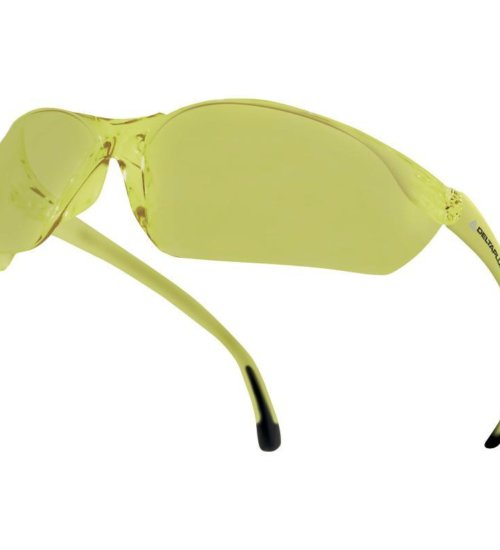 Delta Plus MEIA Lightweight Safety Spectacles- Yellow - BOX 10