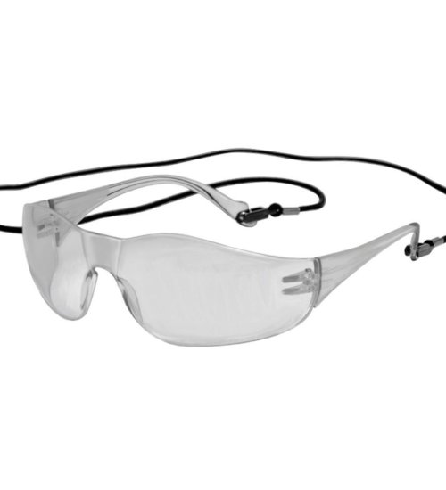 JSP Z4000 Clear Anti-Mist Corded Spectacle - clear safety glasses