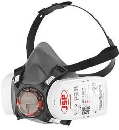 JSP force 8 half mask - WITH pair P3 (Dust) press to check FILTERS