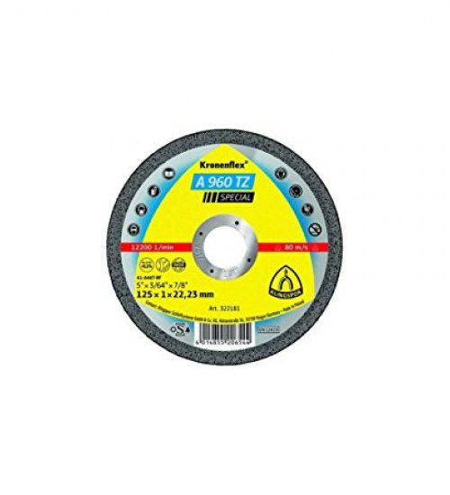 Klingspor A960tz Special premium one mil cutting disc 115 x 1 cut off wheel