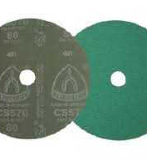Klingspor CS570 115mm fibre disc for stainless and aluminium