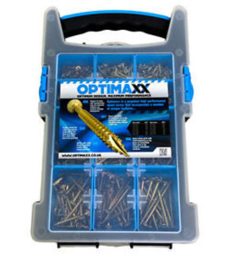 OPTIMAXX PERFORMANCE WOOD SCREW SELECTA CASE