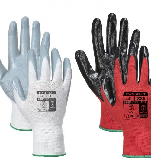 Portwest A319 Flexo Grip Nitrile Glove