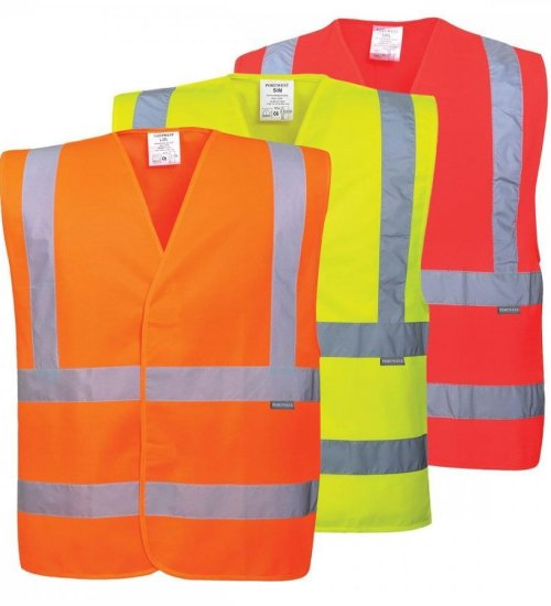 Portwest C470 Hi-visibility 2 band and brace vest