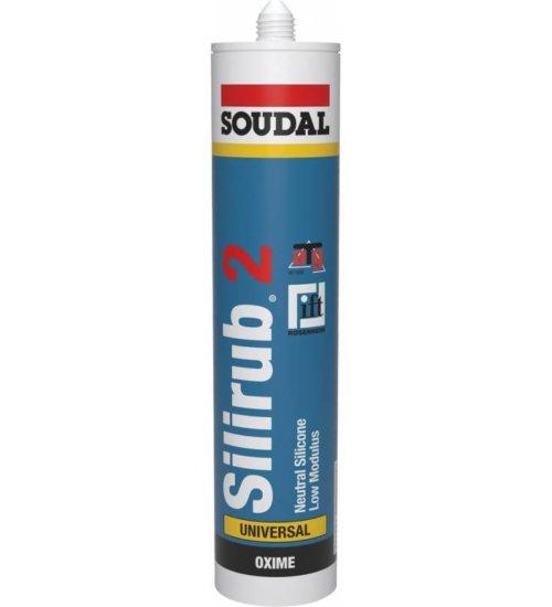 Soudal Silirub 2 - Premium LMN silicone sealant - 300ml