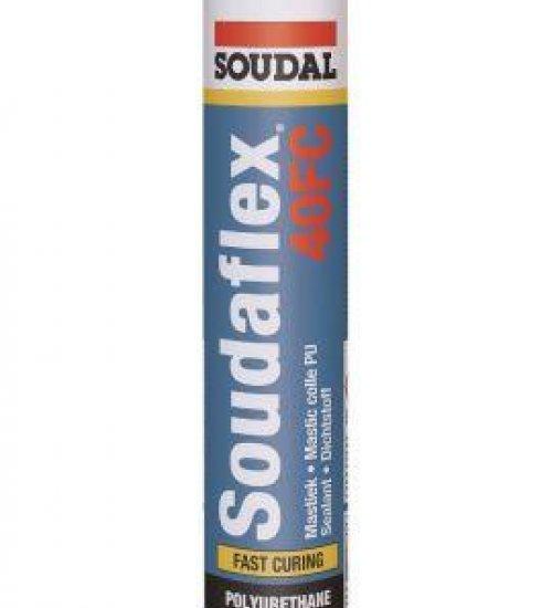 Soudaflex 40FC PU polyurethane elastic sealer adhesive 310 Cartridge
