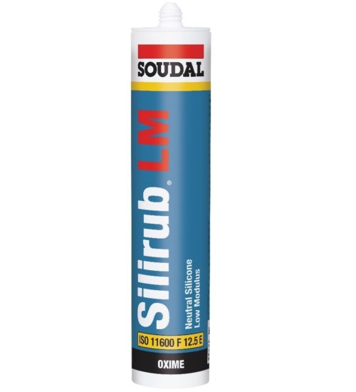 SOUDAL - SILIRUB LM Low modulus neutral cure - 300ML