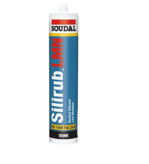 SOUDAL SILIRUB LMN HIGH QUALITY SILICONE SEALANT 300ml