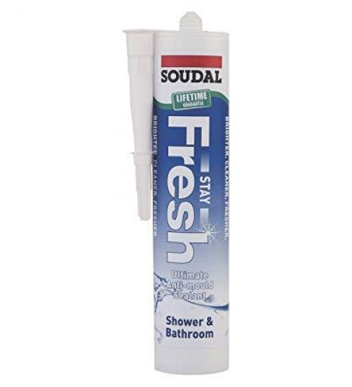 Soudal Stay fresh - anti mould & food safe sealant 300ml