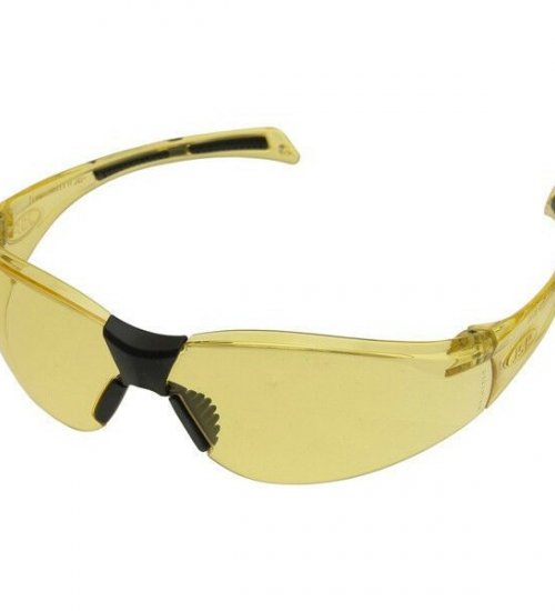 JSP Stealth 8000 Amber Frame - Hard-coat Anti mist scratch resistant Glasses - Eye Safety Protection