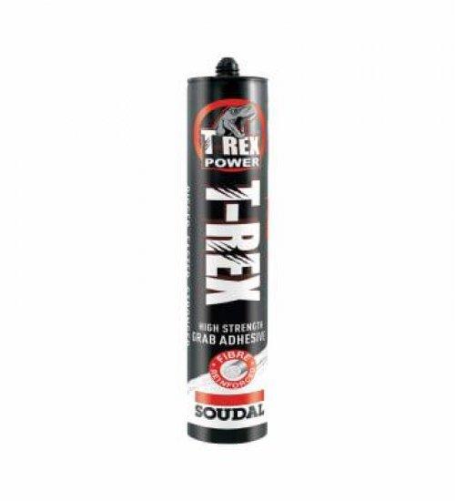 Soudal T-Rex SOLVENT BASED grab adhesive 310ml