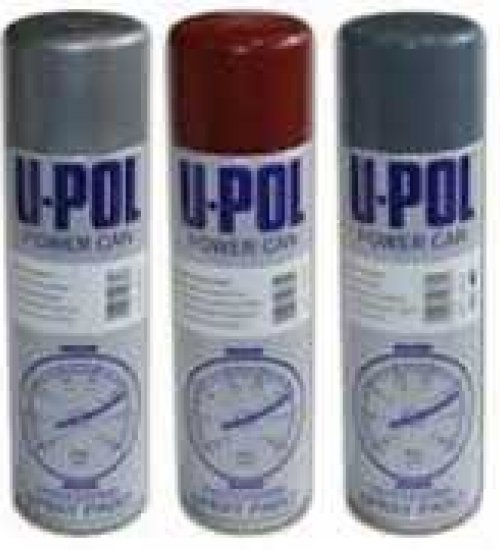 UPOL Clear lacquer aerosol paint top coat - Box of 12 cans