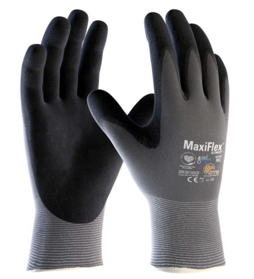 MaxiFlex Ultimate Palm Coated Handling Gloves