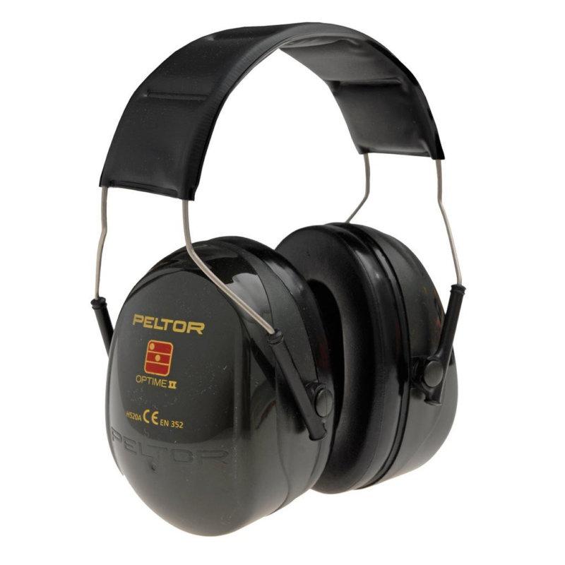 3M Peltor Optime II Ear Defenders Over Head H520A - SNR31