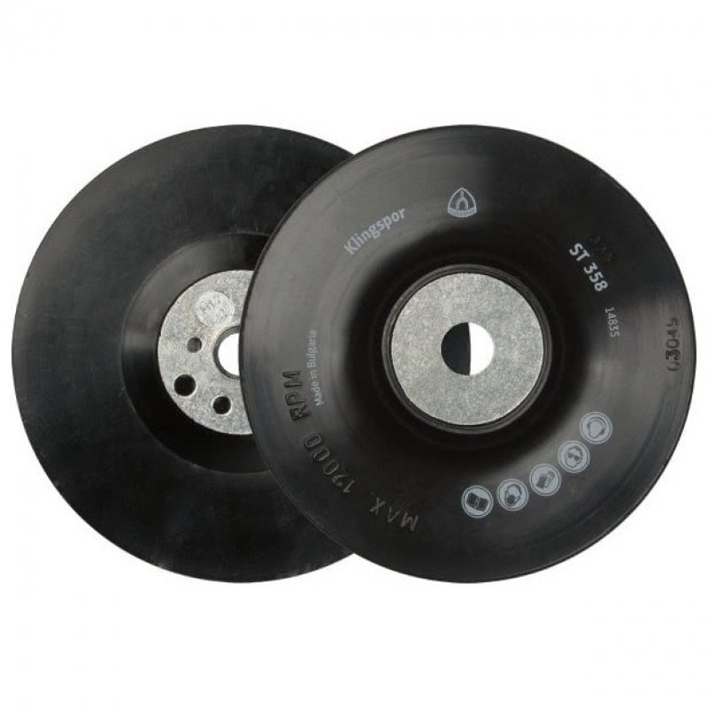 Klingspor backing pad for 115mm fibre discs