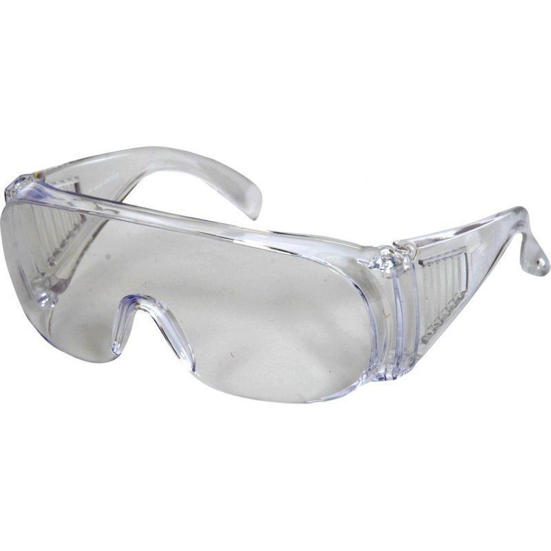 Clear lens safety glasses - Basic. Ideal for occasional use of visitors - BOX OF 12