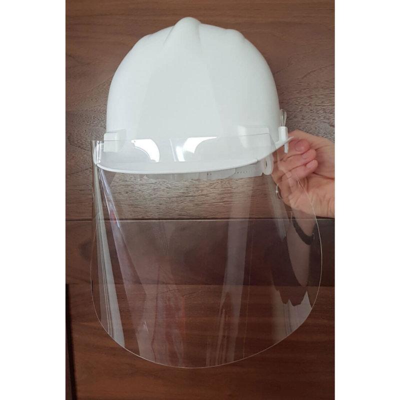 Portwest - CV13 - 300 Micron APET Helmet Screen Clear - MOQ 10 units
