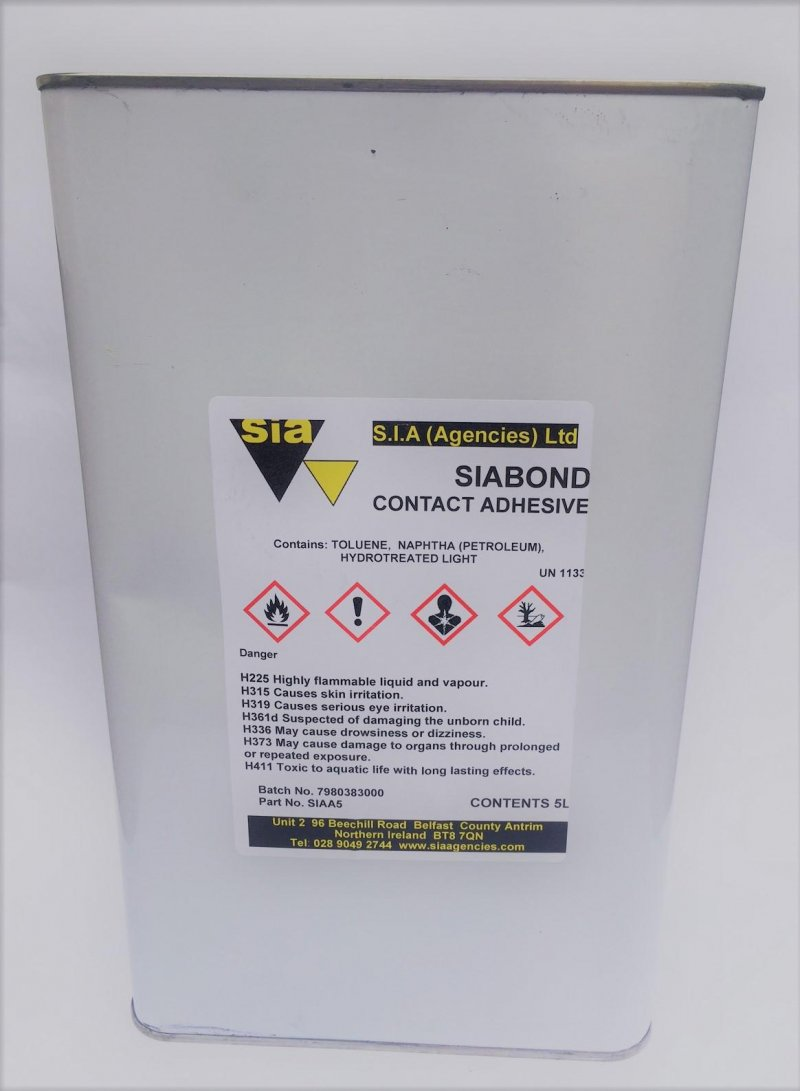 SIA Siabond contact adhesive 5 litre