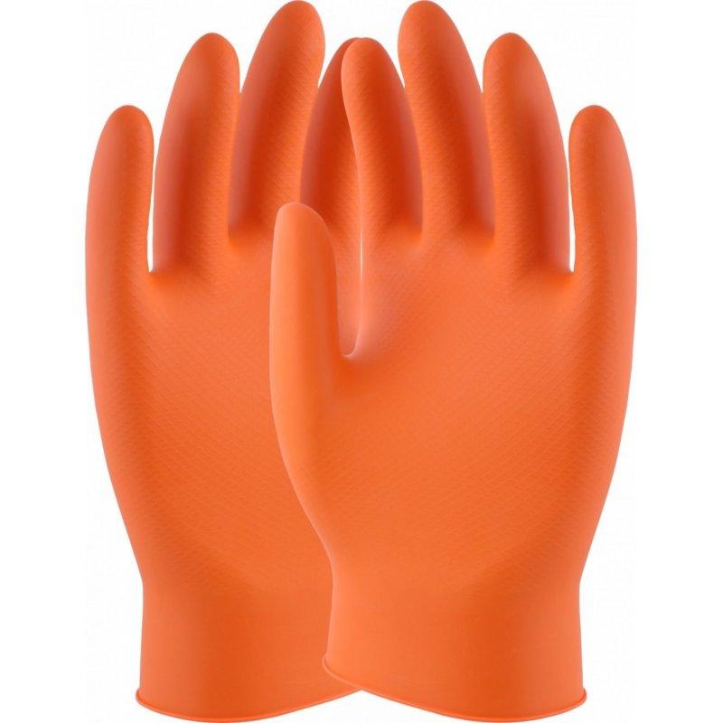 UCI DG Maxim orange grip gloves Box 50