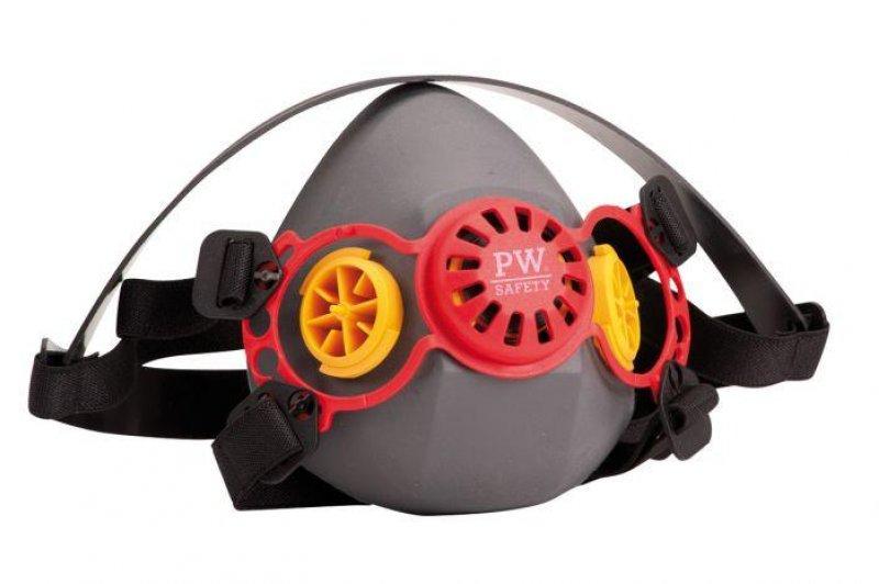 Portwest P430 Geneva half mask silicone respirator