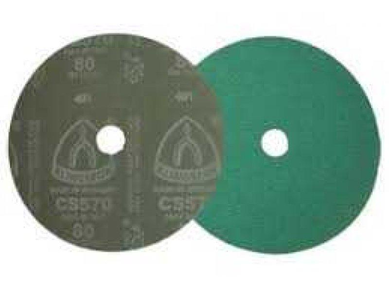 Klingspor CS570 115mm fibre disc for stainless and aluminium