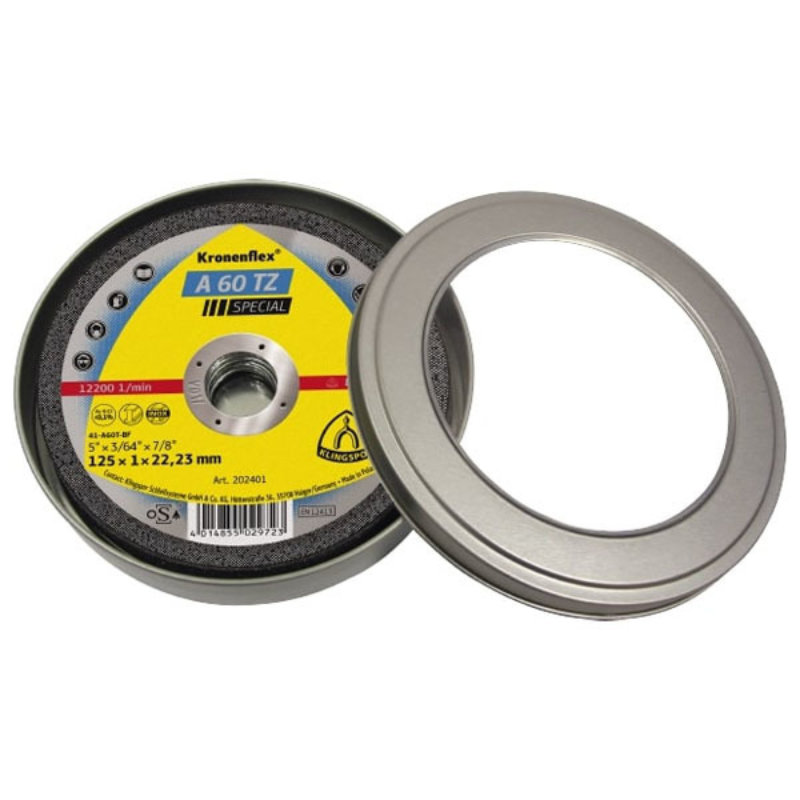 Klingspor A60 EXTRA Cutting Disc (Tin/10 Pack) - Stainless Steel and Steel