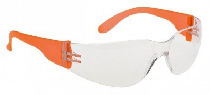 PW32 Portwest wrap around safety glasses standard