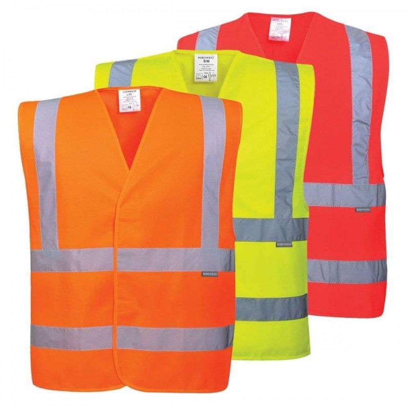 Portwest C470 Hi-visibility 2 band and brace vest