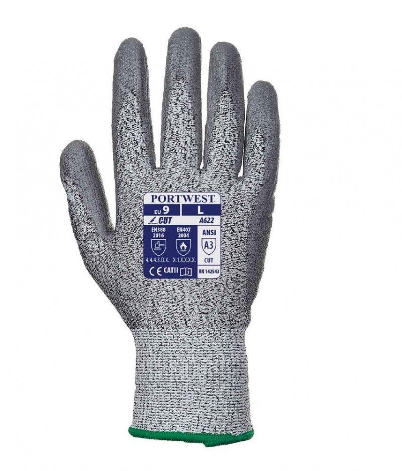 Portwest level 5 cut rated PU palm glove