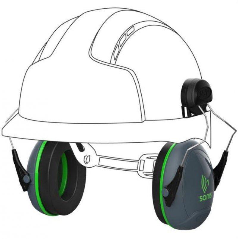 JSP Sonis 1 helmet mounted ear defenders SNR 26dB