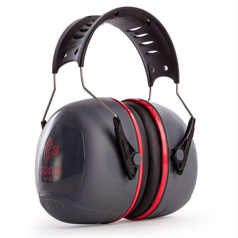 JSP Sonis 3 Adjustable overhead ear defenders SNR 37  [JS-AEB040-0A1-A00]