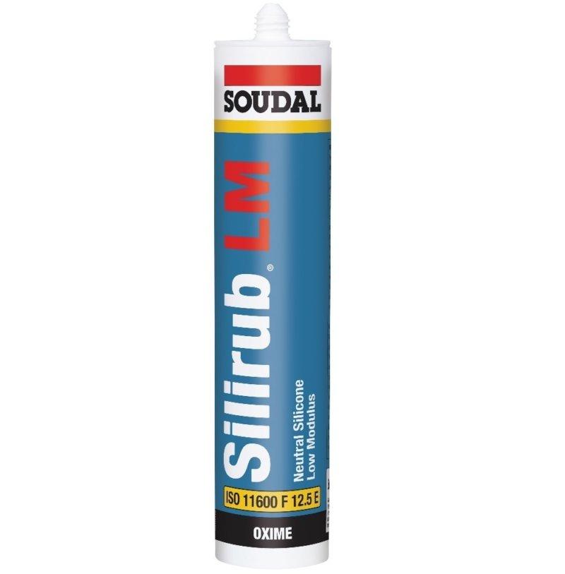 SOUDAL - SILIRUB LM Low modulus neutral cure - 300ML