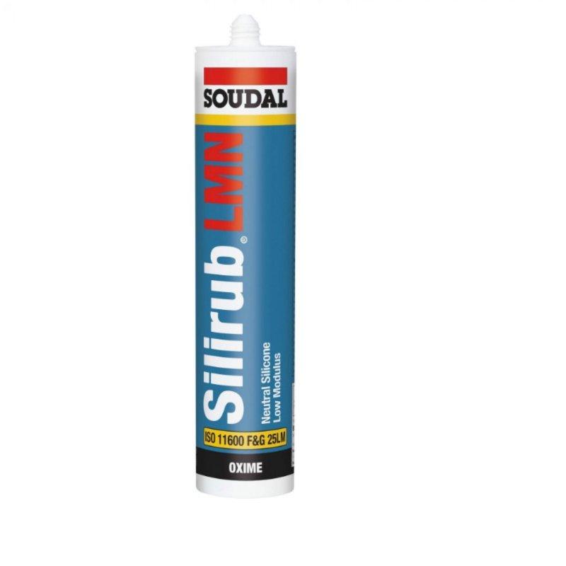 SOUDAL SILIRUB LMN HIGH QUALITY SILICONE SEALANT 300ml