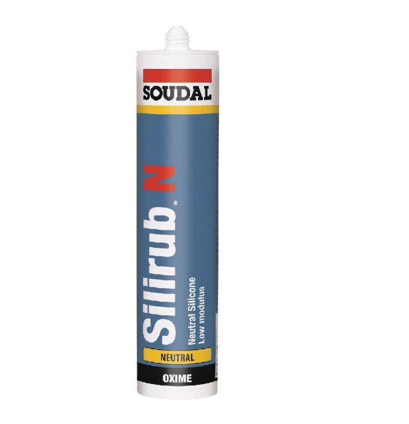 Soudal Silirub N Neutral Cure Silicone - 300ml