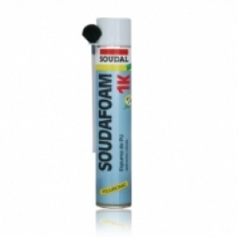 Soudal Soudafoam - Handheld PU gap filler expanding foam - 750ml