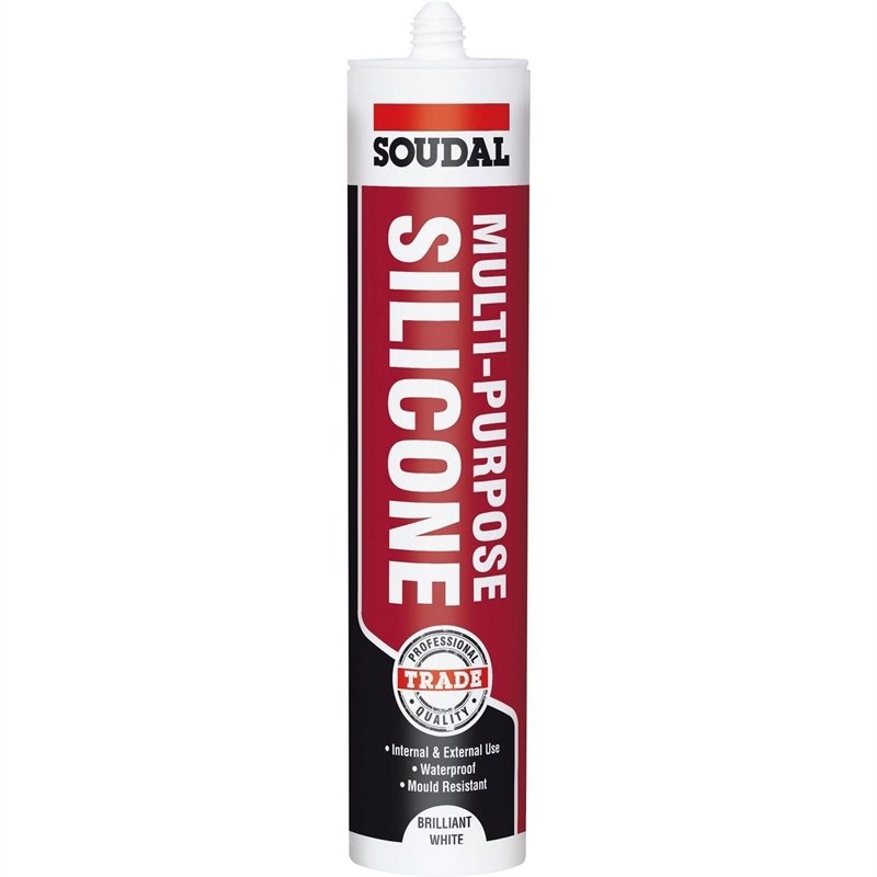 Soudal multi purpose silicone