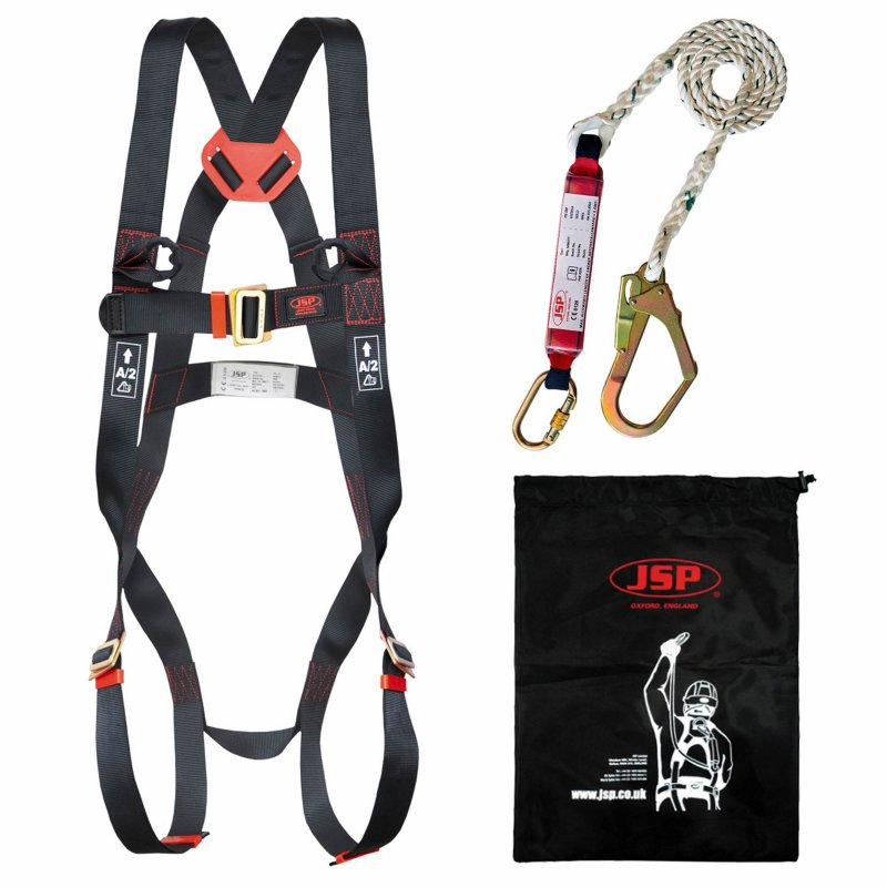 JSP Spartan 2 point fall arrest kit - FAR1102 - Harness