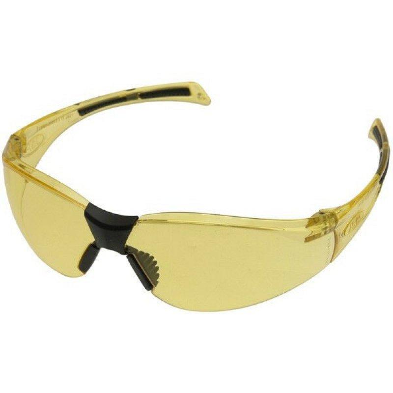 JSP Stealth 8000 Amber Frame - Hard-coat Anti mist scratch resistant Glasses - Eye Safety Protection