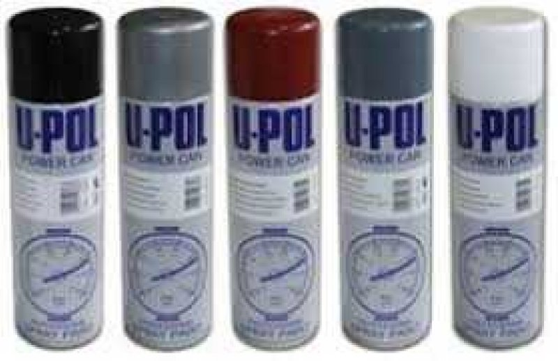 UPOL Clear Lacquer - power can aerosol paint top coat