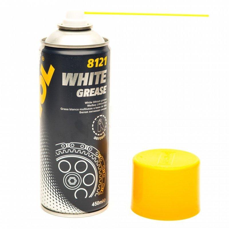 Mannol 8121 White grease aerosol 450ml