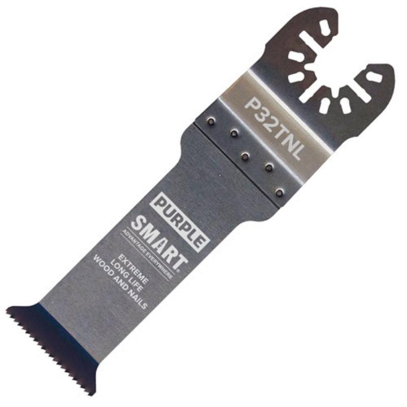 Smart Purple Series 32mm Deep Cut (67MM) Titanium Alloy Bi-Metal Blade P32TNL1