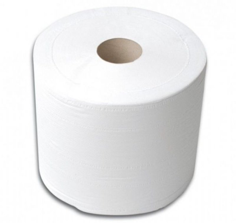 Soudal 190mm x 150m Heavy Duty Paper tissue roll - 100% recycled PACK OF 6