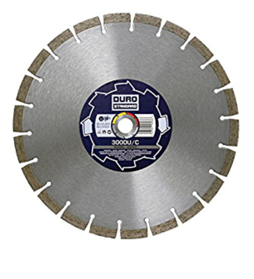 Duro Standard DU/C 300mm Diamond Blade For Universal & Concrete - 20mm Bore