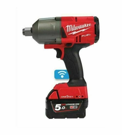Milwaukee ONEFHIWF34-502X 18v FUEL 3/4in Impact Wrench with 2 x 5.0Ah and carry case